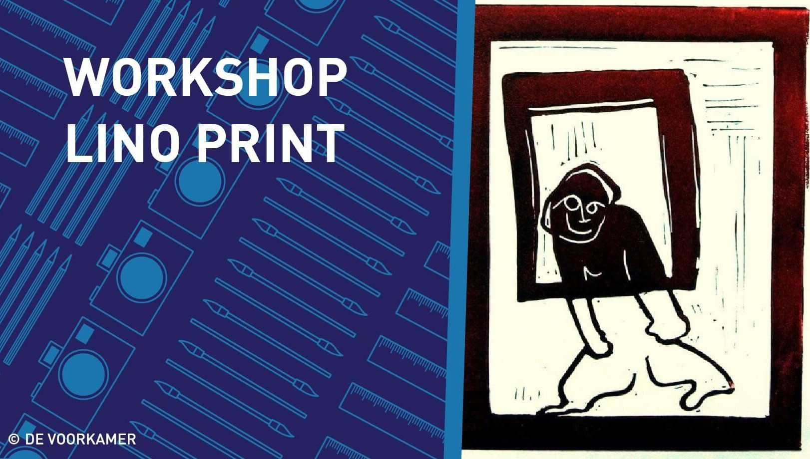 Lino Print Workshop, Zaterdag, 10 oktober