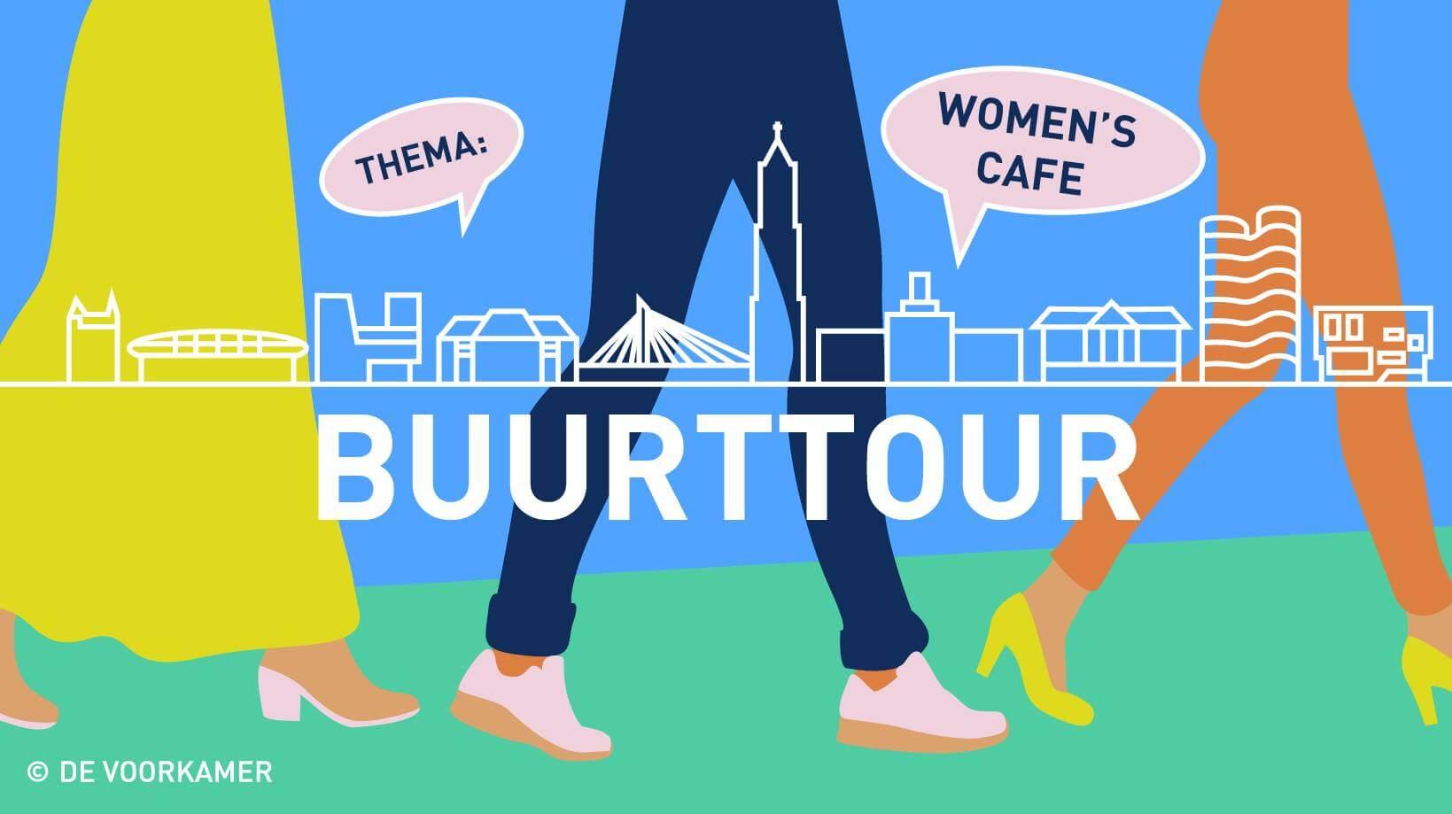 buurttour women cafe
