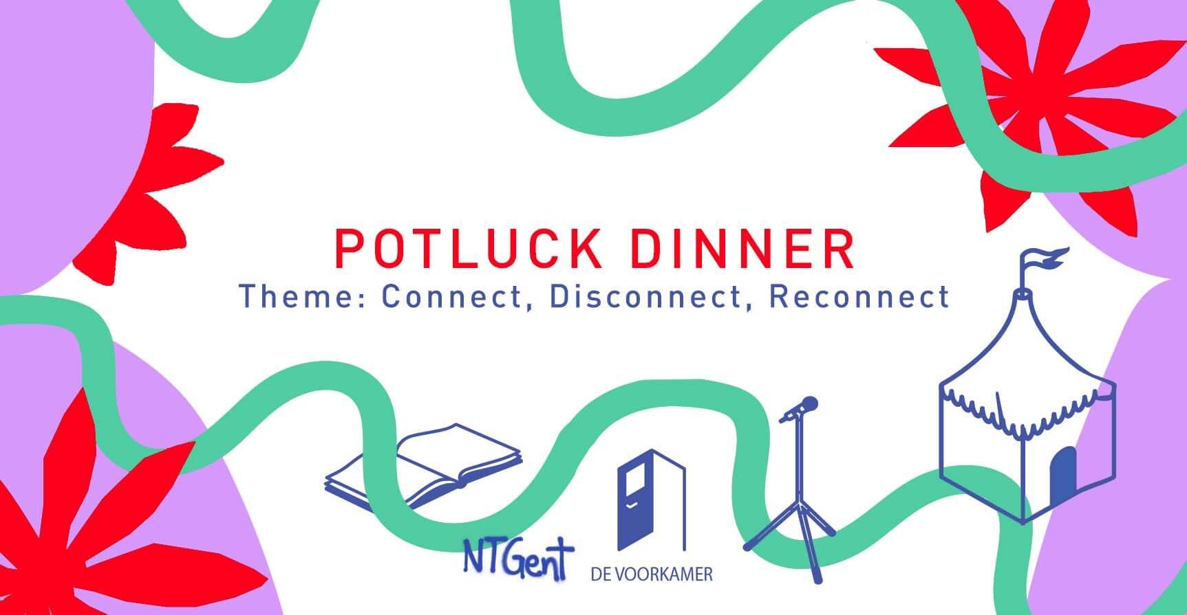 banner potluck dinner